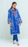 Embroidered Printed Lawn Shirt: With Scattered Embroidered Motifs Over Front Panel 2.9 M Embroidered Neckline Patti: 0.8 M Embroidered Sleeves Border: 0.8 M Dyed Pants: 2.5 M