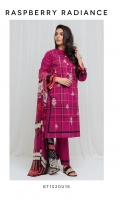 Printed Lawn Shirt With Embroidery Printed Blended Chiffon Dupatta & Dyed Pants