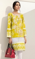 Printed Shirt: 2.5 M Embroidered Neckline: 1 Pc