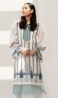 Embroidered Shirt: 2.5 M Embroidered Neckline Patti: 0.6 M Embroidered Sleeves Border: 0.8 M