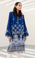 Embroidered Shirt: 2.5 M Embroidered Sleeves Border: 0.8 M