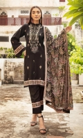 Exclusive Embroidered Karandi Plain Trouser