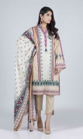 Digital Printed Cambric Shirt: 3.00 M  Digital Printed Cambric Dupatta: 2.50 M