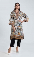PRINTED LAWN SHIRT: 3.00 M  EMBROIDERY BORDER: 2.50 M