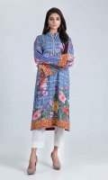 DIGITAL PRINTED LAWN SHIRT: 3.00 M  EMBROIDERY: 1.50 M BORDER