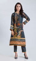 DIGITAL PRINTED EMBROIDERED LAWN SHIRT: 3.00 M  DIGITAL PRINTED CAMBRIC TROUSER: 2.00 M