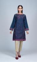 Digital Printed Light Weight Khaddar Shirt: 1.75 M
