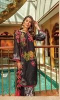 Ready To Wear Lawn Fabric Embroidered Shirt With Adda Work Cotton Fabric Embroidered Trouser Ready To Wear Chiffon Fabric Embroidered Dupatta