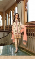 Ready To Wear Cotton Tilla Jaquard Fabric Embroidered Shirt Cotton Fabric Embroidered Trouser Ready To Wear Chiffon Embroidered Dupatta