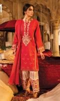 Ready To Wear Cotton Jaquard Fabric Embroidered Shirt With Adda Work Cotton Fabric Embroidered Shalwar Ready To Wear Chiffon Fabric Embroidered Dupatt.