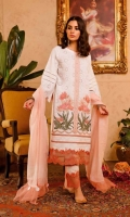 Ready To Wear Schifflli Fabric Embroidered Shirt With Adda Work Cotton Fabric Embroidered Trouser   Ready To Wear Tilla Net Fabric Dupatta