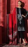 Shirt  Embroidered Front Leather 1.4 m Embroidered Leather Sleeves 26 inches Embroidered Front Daman Patti 1 m Leather Back 1.4 m Trouser  Leather Trouser 2.5 m Shawl  Embroidered Shawl Patti 5 m Embroidered Pashmina Shawl 2.5 m