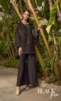 Ready To Wear Organza Fabric Embroidered Shirt With Adda Work Attached Resham Lawn Inner Raw Silk Fabric Embroidered Trouser With Adda Work