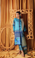 Shirt Digital Printed Staple Shirt 3.25 m Trouser Staple Trouser 2.50 m Embroidered Trouser Patti 1.25 m Duppata Embroidered Cotton Net Duppata 2.50 m
