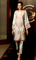 Ready To Wear Raw Silk  Fabric Embroidered Shirt With Golden Lace On Sleeve Front Daamen Patch Work Rashem Lawn Inner Raw Silk Trouser With Bottom Pintex