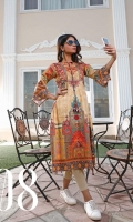 Unstitched Digital Printed Kurti