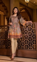 Unstitched Digital Printed Jacquard Kurti