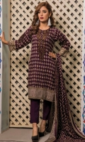 Printed Lawn Shirt  Printed Dupatta  Simple Trouser