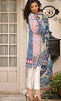 3 Piece Embroidered Lawn Suit