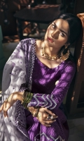SHIRT (2.5M)  DYED EMBROIDERED FRONT AND SLEEVES  DIGITAL PRINTED BACK  TROUSER (2.5M)  DYED CAMBRIC TROUSER  DUPATTA (2.5M)  EMBROIDERED RAJJO NET DUPATTA