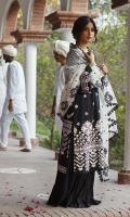 SHIRT (2.5M)  EMBROIDERED LAWN FRONT AND SLEEVES  PASTE PRINTED BACK  TROUSER (2.5M)  DYED CAMBRIC TROUSER  DUPATTA (2.5M)  EMBROIDERED SQUARE NET DUPATTA