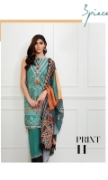 100% COTTON FLATBED PRINTED SHIRT  100% COTTON DYED TROUSER  DIGITAL PRINTED LAWN DUPATTA