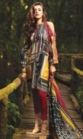 1.1 M Printed Front 1.1 M Printed Back 0.6M Printed Sleeves 2.5M Lawn Dupatta 2.5M Dyed Trouser