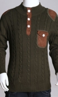 Full Sleeves Stylish Woolen Sweater