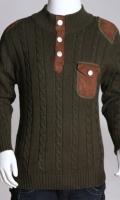 Full Sleeves Stylish Woolen Sweater