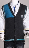 Sleeves less Woolen Cardigan