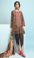 3 Meters Embroidered Khaddar Shirt,  2.5 Meters Printed Khaddar Dupatta,  2.5 Meters Dyed Khaddar Trouser.