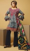 3 Meters Embroidered Khaddar Shirt,  2.5 Meters Printed Khaddar Dupatta 2.5 Meters Dyed Khaddar Trouser.