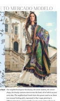PRINTED DUPATTA (PURE SILK) 2.50 METERS EMBROIDERED SHIRT FRONT (PIMA LAWN) 1.06 METERS PRINTED SHIRT BACK (PIMA LAWN) 1.30 METERS EMBROIDERED SLEEVES (PIMA LAWN) 0.60 METERS PRINTED TROUSER (PIMA COTTON) 2.50 METERS EMBROIDERED NECKBAND 01 PIECE SHIRT SIDE EXTENSION 01 PIECE