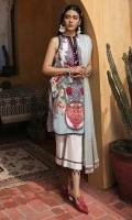 Printed Lawn Shirt 2.94 Meter Yarn Dyed Tilla Dupatta 2.55 Meter