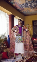 Printed Lawn Shirt 2.94M Printed Nylon Dupatta 2.55M Dyed Cambric Trouser 2.50M