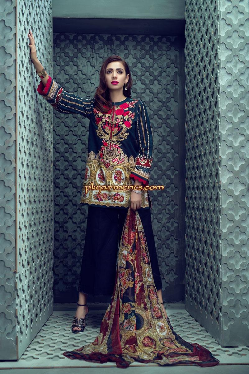 Pakistani winter dress 2018 fashion