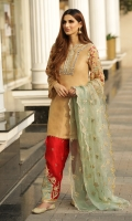 """Shirt Raw Silk Front & back Embroidered Neckline Raw silk heavily Embroidered Sleeves Dupatta Organza Embroidered Dupatta Shalwar Raw Silk Embroidered Shalwar"""""""