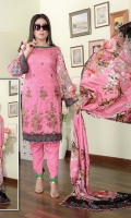 Embroidered Viscose Shirt Digital Print Viscose Dupatta Dyed Bottom