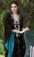 This plush black velvet kaftan absolutely exudes flavour. Intricate silver embroidery adorns the 'V' neck and the relaxed fit makes this a universally flattering silhouette. Finished with a sumptuous silk lining for that final show stopping flair. Style yours with stiletto heels and statement earrings from the ultimate night out!