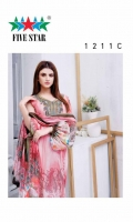 Printed Lawn  Printed Shirt  Printed Dupatta  Dyed Bottom