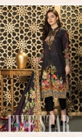 Digital Printed Lawn Shirt Digital Printed Lawn Dupatta Dyed Dupatta