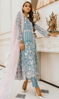 EMBROIDERED NET HAND MADE MAKSI EMBROIDERED HAND MADE BORDERS EMBROIDERED HAND MADE BODY PATCH EMBROIDERED DUPPATA EMBROIDERED SLEEVES JAMAWAR INNER AND ACCESSORIES