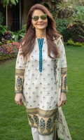 Printed Rotary Dupatta – 2.5 meters Printed Shirt – 1.75 meters Printed Shirt – 1.75 meters