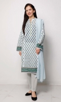 Single Lacquer Printed Lawn Shirt – 1.75 meters