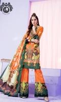 Digital Printed Luxury Lawn Shirt Digital Printed Luxury Lawn Dupatta Digital Printed Luxury Cambric Cotton Trouser