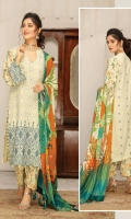 Embroidered Leather Peach Stone Embellished Shawls Printed Trouser