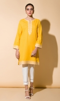 Embroidered Kurta Full Sleeves Gota Finishing