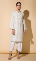 Chikankari Kurta Full Sleeves Gota Finishing