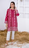 Embroidered Kurta Full Sleeves Embroidered Front & Back