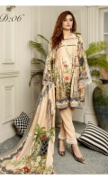 SHIRT: DIGITAL PRINTED SUBLIME LINEN SHIRT 3M  DUPATTA: DIGITAL PRINTED SUBLIME LINEN DUPATTA 2.5M  TROUSER: DYED LINEN TROUSER 2.5M